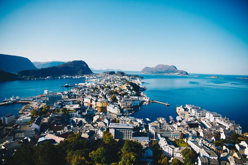 Utdrikningslag i Alesund Norge