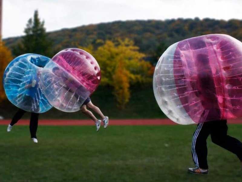 Utleie av boblefotballer